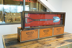Two years after breaking ground at the property in Shelby County, Bulleit Distilling Co., hosted a ribbon cutting with parent company Diageo, Tuesday, March 14, 2017 at Bulleit Distilling Company in Shelbyville.