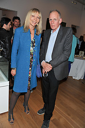 PENELOPE TREE and JIMMY FOX at a private view of work by the late Rory McEwen - The Colours of Reality, held at the Shirley Sherwood Gallery, Kew Gardens, London on 20th May 2013.