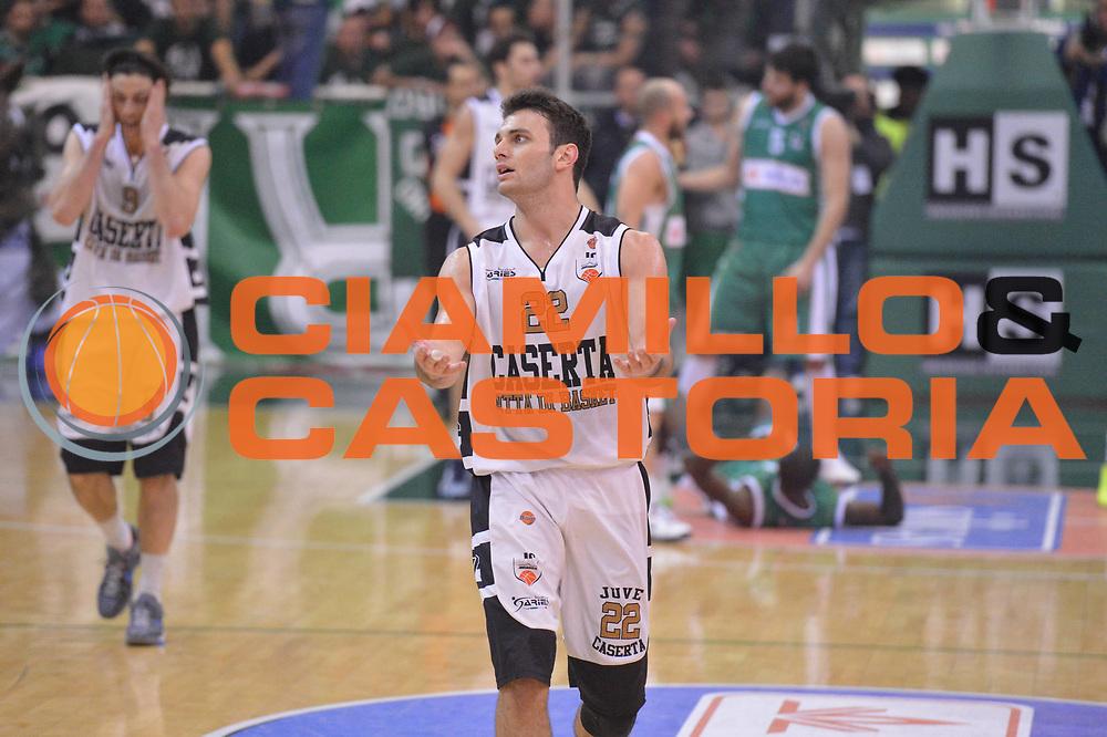 DESCRIZIONE : Avellino Lega A 2012-13 Sidigas Avellino Juve Caserta<br /> GIOCATORE : Stefano Gentile<br /> CATEGORIA : delusione<br /> SQUADRA : Juve Caserta<br /> EVENTO : Campionato Lega A 2012-2013 <br /> GARA : Sidigas Avellino Juve Caserta<br /> DATA : 30/12/2012<br /> SPORT : Pallacanestro <br /> AUTORE : Agenzia Ciamillo-Castoria/GiulioCiamillo<br /> Galleria : Lega Basket A 2012-2013  <br /> Fotonotizia : Avellino Lega A 2012-13 Sidigas Avellino Juve Caserta<br /> Predefinita :