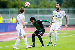 Djair Terraii Carl Parfitt-Williams of NK Rudar Velenje during football match between NK Rudar Velenje and Maribor in 1st Round of Prva liga Telekom Slovenije 2018/19, on July 22, 2018 in Mestni stadion ob Jezeru, Velenje , Slovenia. Photo by Ziga Zupan / Sportida