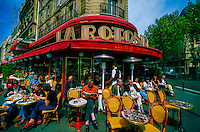 Cafe Rotonde on Boulevard Montparnasse, Paris, France