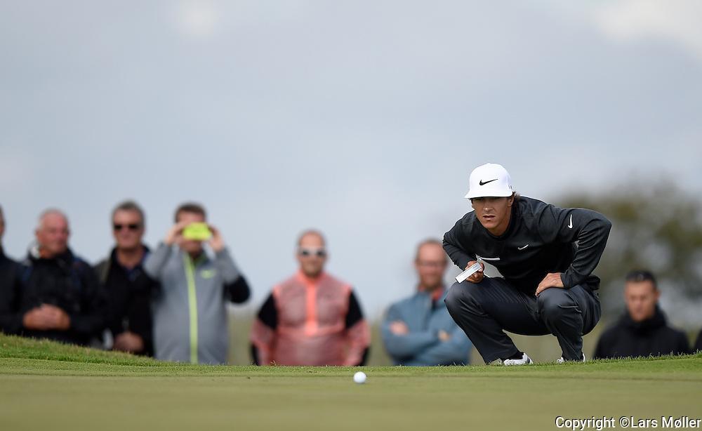 DK Caption:<br /> 20140814, Aars, Danmark:<br /> Made in Denmark Golf. 1. runde: Thorbj&oslash;rn Olesen (DEN)<br /> Foto: Lars M&oslash;ller<br /> UK Caption:<br /> 20140814, Aars, Denmark:<br /> Made in Denmark Golf.  1st round:  Thorbj&oslash;rn Olesen (DEN)<br /> Photo: Lars Moeller
