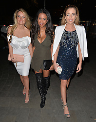 Lydia Bright, Danni Park-Dempsey and friend enjoy a night out at STK London. UK. 04/04/2015<br />BYLINE MUST READ : GOTCHAIMAGES.COM<br /><br />Copyright by © Gotcha Images Ltd. All rights reserved.<br />Usage of this image is conditional upon the acceptance <br />of Gotcha Images Ltd, terms and conditions available at<br />www.gotchaimages.com