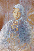 silvered emulsion oxidation photo portrait of a young boy Japan 1915