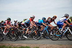 Christine Majerus (LUX) in the bunch at Boels Ladies Tour 2019 - Stage 3, a 156.8 km road race starting and finishing in Nijverdal, Netherlands on September 6, 2019. Photo by Sean Robinson/velofocus.com