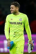 09-04-2016 VOETBAL:PSV:WILLEM II:EINDHOVEN<br /> Jeroen Zoet van PSV blij met de overwinning<br /> Foto: Geert van Erven