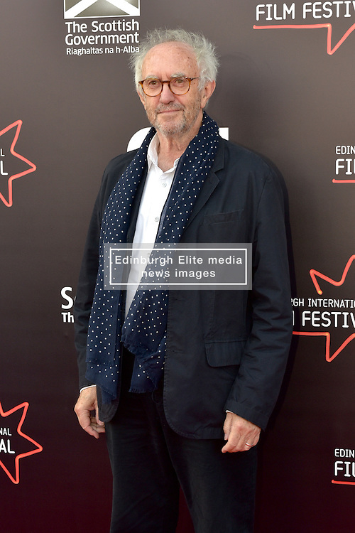 Jonathan Pryce (Actor) on the red carpet at the 2016 Edinburgh International Film Festival, WORLD PREMIERE of The White King at Cineworld, Edinburgh18th June 2016, (c) Brian Anderson | Edinburgh Elite media