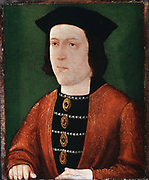 Edward IV (1442-1483)  King of England (1461).  Plantagenet of Yorkist line. Anonymous. Painting on panel. Anonymous.