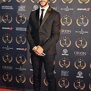 Fady Elsayed arrivers at Gold Movie Awards at Regents Street Theatre, on 9th January 2020, London, UK.