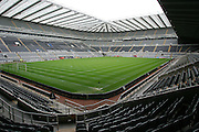St James' Park, home of Newcastle Untied