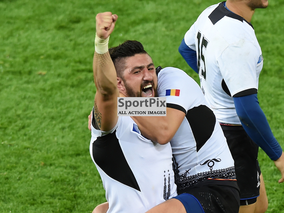 A Delighted Florin Vlaicu at the final whistle (c) Simon Kimber | SportPix.org.uk