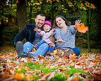 Fun, candid photo shoot with the Belanger_Ozga family at the Arboretum in Ottawa on October 05, 2014.