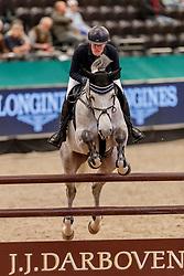 MUTH Julia (GER), Lorina<br /> Leipzig - Partner Pferd 2020<br /> SPOOKS-Amateur Trophy - MediumTour<br /> Springprüfung nach Fehlern und Zeit, international<br /> 16. Januar 2020<br /> © www.sportfotos-lafrentz.de/Stefan Lafrentz