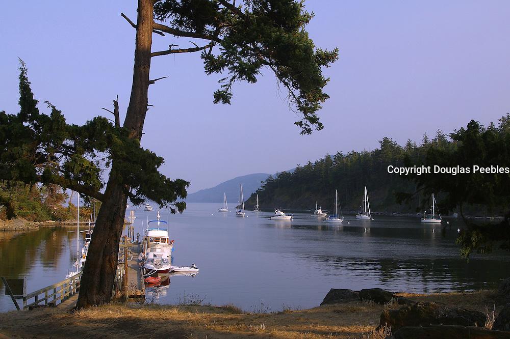 Fossil Bay, Sucia Island, San Juan Islands, Washington<br />