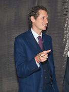 JOHN ELKANN, The Global launch of the 2012 Pirelli Calendar by Mario Sorrenti.  Dinner at the Park Avenue Armory. Manhattan. 6 December 2011.