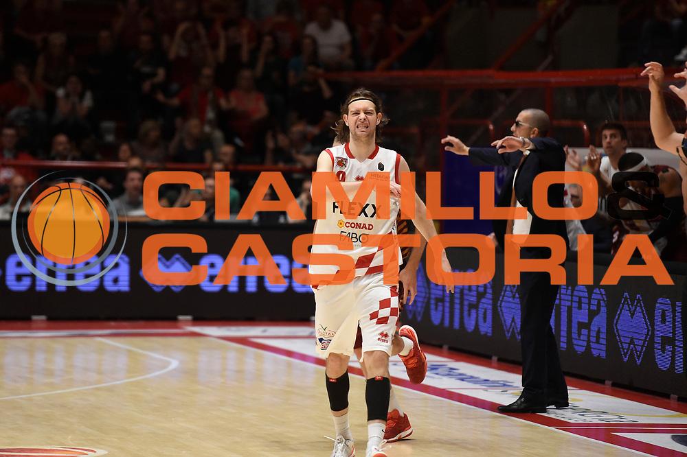 Michele Antonutti<br /> The Flexx Pistoia Umana Reyer Venezia<br /> Lega Basket Serie A 2016/2017<br /> Playoff Quarti di finale Gara 4<br /> Pistoia 19/05/2017<br /> Foto Ciamillo-Castoria