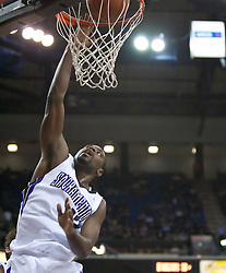 October 23, 2009; Sacramento, CA, USA;  Sacramento Kings guard Tyreke Evans (13) dunks against the Utah Jazz during the second quarter at the ARCO Arena.  The Jazz won 95-85.