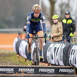 12-01-2020: Wielrennen: NK Veldrijden: Rucphen <br />Joost Brinkman