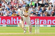 Travis Head of Australia batting during the International Test Match 2019 match between England and Australia at Edgbaston, Birmingham, United Kingdom on 3 August 2019.