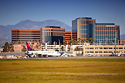 John Wayne Airport In Irvine, Orange County California