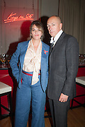 TRACEY EMIN; DYLAN JONES;   VIP room during the RA summer exhibition party. Royal Academy, Piccadilly. London. 5 June 2013.