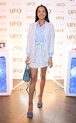 EDITORIAL USE ONLY<br /> Yasmin Evans at the FOREO launch party in London for the world&Otilde;s first smart mask device, the FOREO UFO.