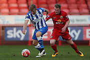 Will Collar during the Barclays U21 Premier League match between U21 Brighton and Hove Albion and U21 Blackburn Rovers at the Checkatrade.com Stadium, Crawley, England on 4 April 2016.