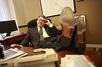 my brother, Senator Al Franken in his Washington office Al Franken