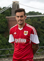 Marlon Pack of Bristol City - Photo mandatory by-line: Kieran McManus/JMP - Tel: Mobile: 07966 386802 31/07/2013 - SPORT - FOOTBALL - Avon Gorge Hotel - Clifton Suspension bridge - Bristol -  Team Photo