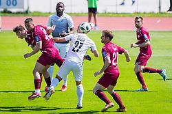 NejcPusnik of NK Triglav Kranj during football match between NK Triglav Kranj and NK Ankaran Hrvatini in Round #28 of Prva Liga Telekom Slovenije 2017/18, on April 22, 2018 in Sports park Kranj, Kranj, Slovenia. Photo by Ziga Zupan / Sportida