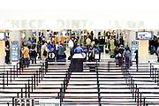The security check-point for all flights at Hartsfield-Jackson Atlanta International Airport in Atlanta, Georgia January 6, 2009.