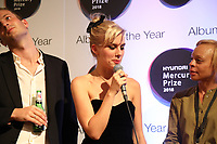 Wolf Alice celebrate winning the 2018 Hyundai Mercury Prize: Albums of the Year