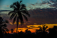 Tropical sunrise, Negombo, Sri Lanka.