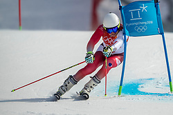 18-02-2018 KOR: Olympic Games day 9, Pyeongchang<br /> Alpine Skiing Men's Giant Slalom at Yongpyong Alpine Centre / Gino Caviezel of Switzerland
