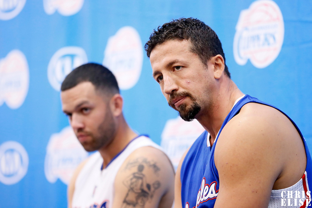 29 September 2014: Hedo Turkoglu is seen during the Los Angeles Clippers Media Day, at Los Angeles Clippers Training Facility, Playa Vista, California, USA.