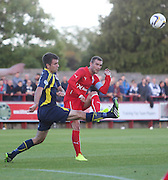 Dundee's Kevin Thomson and Brechin's Paul McLean - Brechin City v Dundee, pre-season friendly at Dens Park<br /> <br />  - &copy; David Young - www.davidyoungphoto.co.uk - email: davidyoungphoto@gmail.com