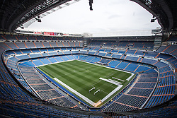 THEMENBILD - Innenansicht des Santiago Bernabeu Stadions. Die Stadt Madrid ist eine der größten Metropolen in Europa. Sie liegt im Zentrum der iberischen Halbinsel und ist Hauptstadt von Spanien. Aufgenommen am 25.03.2016 in Madrid ist Spanien // Madrid is on of the biggest metropolis in Europe. It is located in the center of the Iberian Peninsula and is the capital of Spain. Spain on 2016/03/25. EXPA Pictures © 2016, PhotoCredit: EXPA/ Jakob Gruber