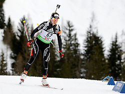 16.12.2011, Biathlonzentrum, Hochfilzen, AUT, E.ON IBU Weltcup, 3. Biathlon, Hochfilzen, Sprint Frauen, im Bild Elisa Gasparin (SUI) // during Sprint women E.ON IBU World Cup 3th Biathlon, Hochfilzen, Austria on 2011/12/16. EXPA Pictures © 2011, PhotoCredit: EXPA/ Oskar Hoeher