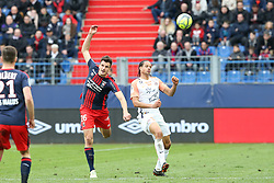 April 1, 2018 - Paris, France - Ivan Santini (Caen) vs Daniel Congre  (Credit Image: © Panoramic via ZUMA Press)