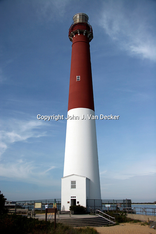 Barnegat Bay Lighthouse, Long Beach Island, NJ, USA scenic