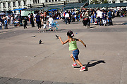 Sunday 12 November 2006<br /> Daily Life scenes from the Parque Central main Square in Guatemala City