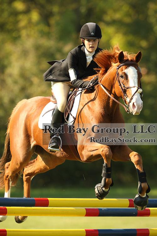 Leigh Rettenmaier and Leonardo Da Vinci at the Queeny Park Horse Trials in St. Louis, MO.