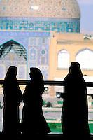 Iran, Esfahan, Ispahan, Place de l'Imam, Mosquée de Cheikh Lotfollah // Iran, Esfahan, Ispahan, Imam square, Cheikh Lotfollah mosque