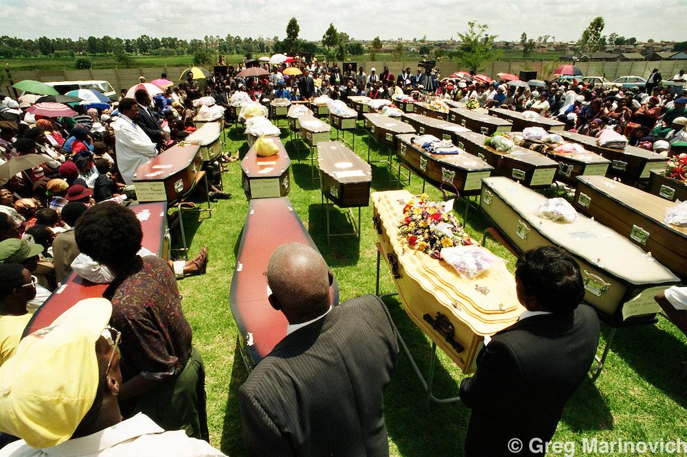 Sebokeng mass funeral 19910127