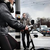 Nederland, amsterdam , 12 april 2013.<br /> Eric Wiebes is sinds 19 mei 2010 wethouder verkeer en vervoer namens de VVD in Amsterdam. Onder deze portefeuille vallen ook de Noordzuidlijn, Taxi's, luchtkwaliteit en de gemeentelijke ICT. Namens de stadsregio Amsterdam gaat hij over openbaar vervoer in de hoofdstad.<br /> Foto:Jean-Pierre Jans