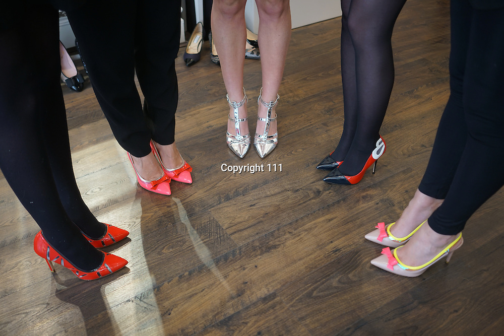 London,England,UK : 20th April 2016 : Lucy Choi London, Spring / Summer 2016 collection press day at 18 Connaught Street in London. Photo by See Li