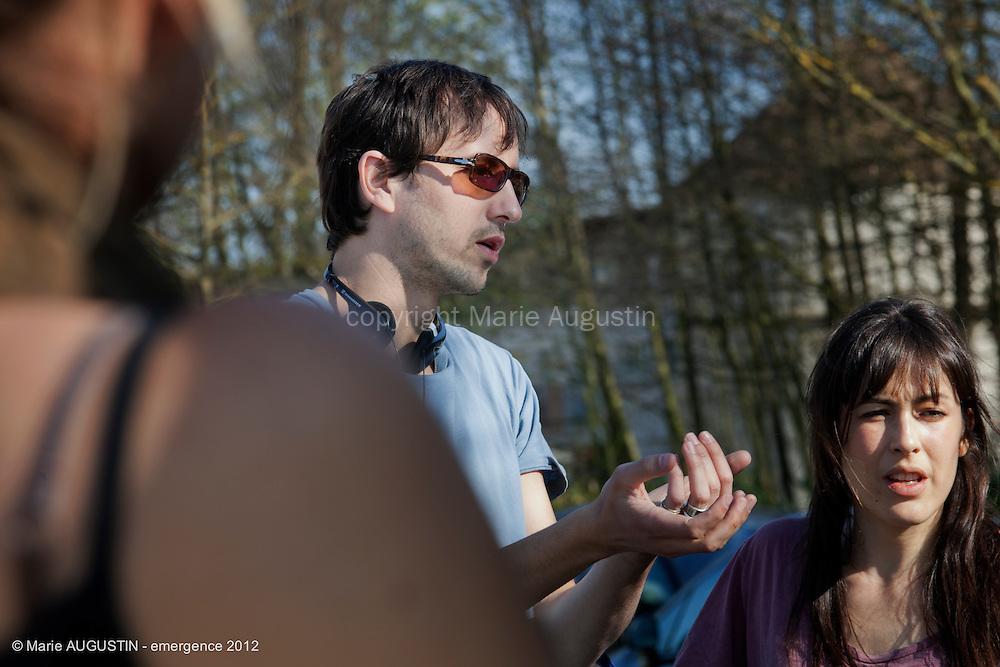 Stéphane DEMOUSTIER, réalisateur - tournage scène imposée - emergence 2012