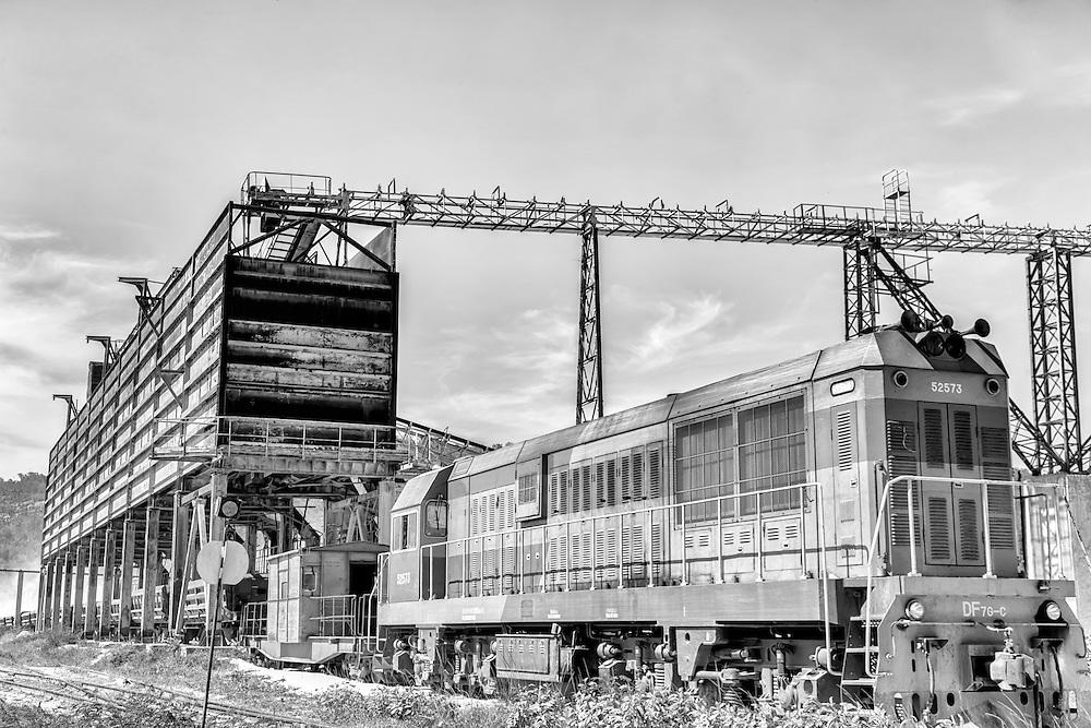 Industry in Carco Redondo, Granma,Cuba.