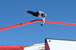 19.03.2017, Ski Stadium, Sierra Nevada, ESP, FIS Freestyle Ski and Snowboard WM, Sierra Nevada 2017, Slope Style Ski, im Bild James Woods (GBR) crashes but still goes on to win the bronze medal during the Men's Slope Style Ski Final // James Woods (GBR) crashes but still goes on to win the bronze medal during the Men's Slope Style Ski Final of the FIS Freestyle Ski & Snowboard World Championships 2017 at the Ski Stadium in Sierra Nevada, Spain on 2017/03/19. EXPA Pictures © 2017, PhotoCredit: EXPA/ Focus Images/ Kristian Kane<br /> <br /> *****ATTENTION - for AUT, GER, FRA, ITA, SUI, POL, CRO, SLO only*****