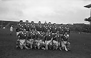 Railway Cup Final, Leinster v Munster. Leinster Team..17.03.1963